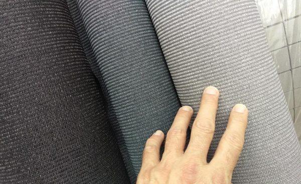 3 kleuren tenttapijt rechts Creme Silver